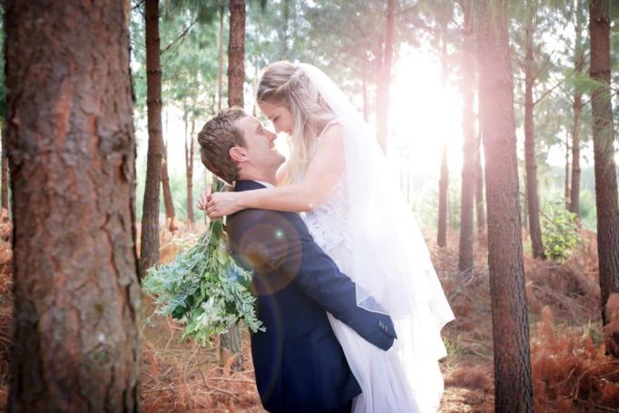 Pieter & Rhode's Forest Wedding