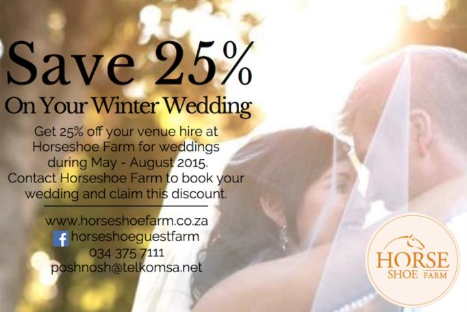 Winter Wedding Special Offer